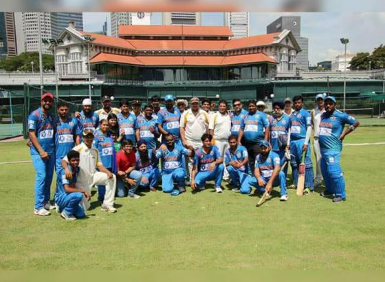 Indian Physically Challenged Cricket Team Beats Singapore Cricket Club by 2-1