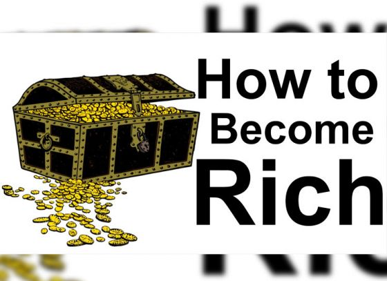 Want to Be Rich? Follow these 4 tips