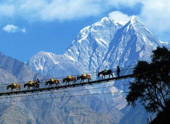 The metropolis of Nepal