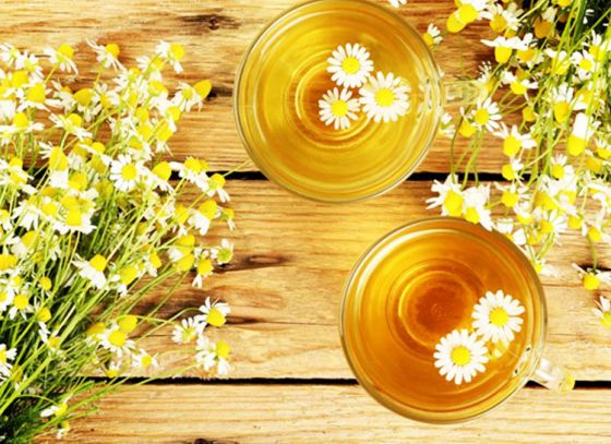 Relish the Healing Chamomile Tea