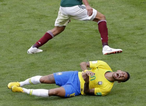 Here's What Ex-Brazilian Footballer Ronaldo Has to Say about Neymar's Play -acting