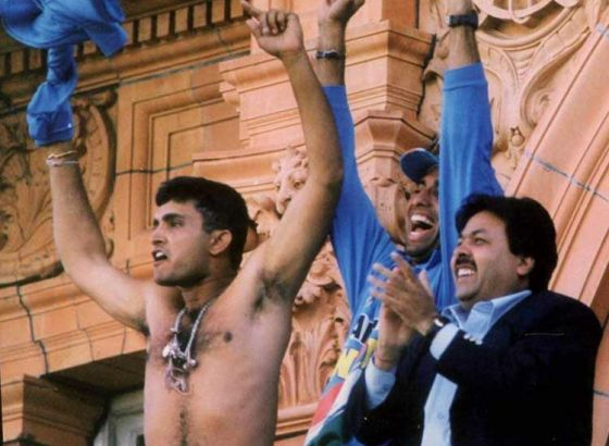 Remember Sourav Ganguly's Famous Shirt Wave At Lord's?