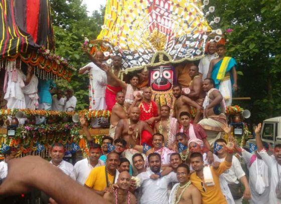 ISKCON Mayapur celebrates Rath Yatra