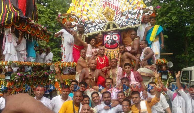ISKCON Mayapur celebrates Rath Yatra - Jiyo Bangla