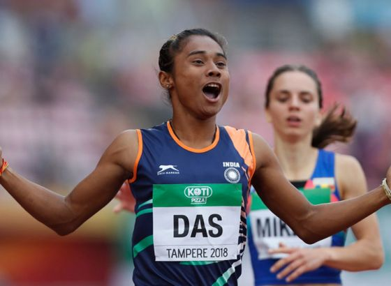 18 years old girl made India proud