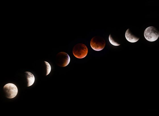Which countries will get the best view of the Lunar Eclipse 2018?