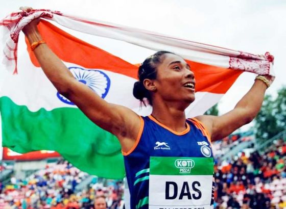 Hima Das to focus on individual track events for Asian Games 2018