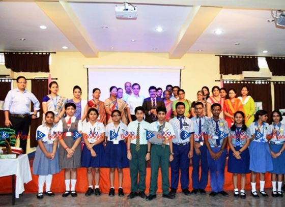 Environment quiz competition at Andhra Association School