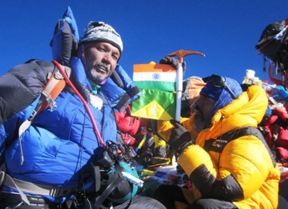 Ujjal Ray fromBengal Topped the Virgin Peak of Ladakh