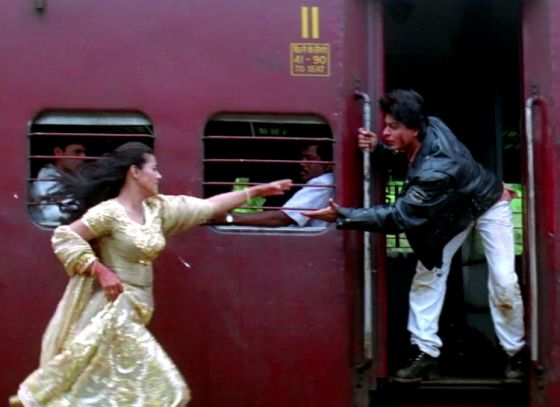 The mess behind the celebrated train scene in DDLJ