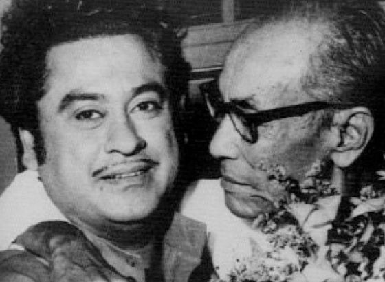 Kishore Kumar and SD Burman will join Pancham Da