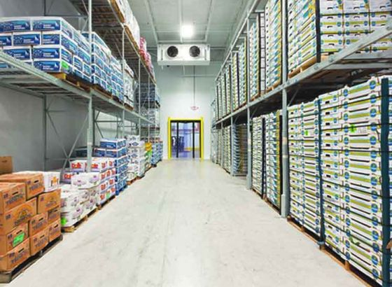 Largest cold storage in the country