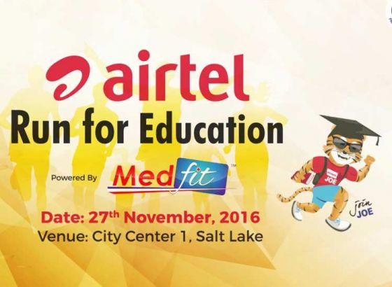 """Run for Education"" Kolkata Marathon"
