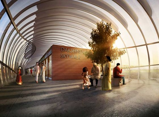 Skywalk to be opened today