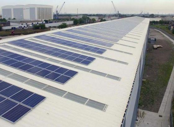 Solar powered warehouse inaugurated in Singur