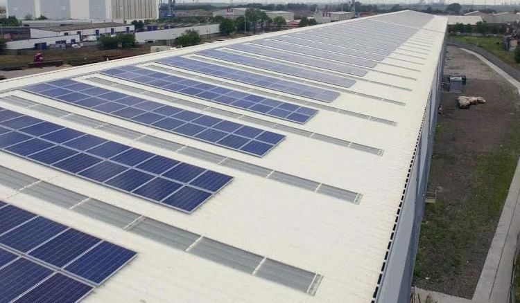 Solar powered warehouse inaugurated in Singur