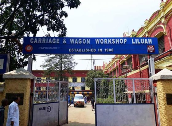 Liluah workshop bringing out refurbished AC wagons