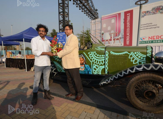 Cartist Yatra paints Eco Park in myriad hues