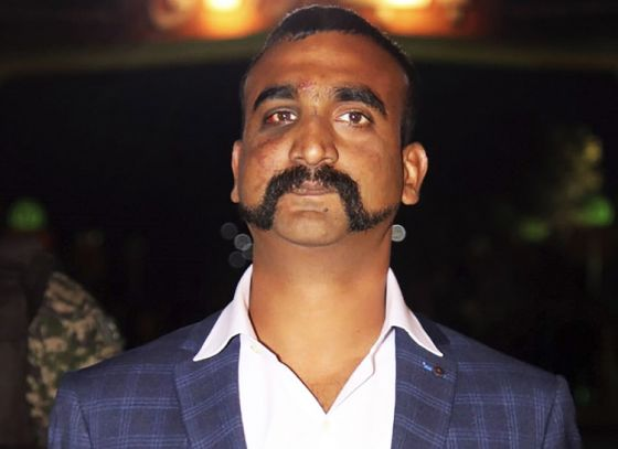Abhinandan moustache in fashion