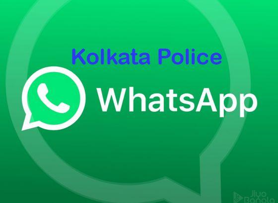 Kolkata Police Whatsapp group during polls