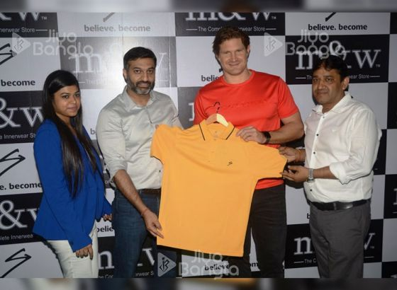 Shane Watson launches SG Apparel Spring Summer 2019 Collection