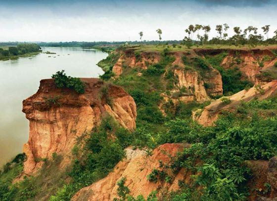 Gongoni Danga: Bengal's Grand Canyon