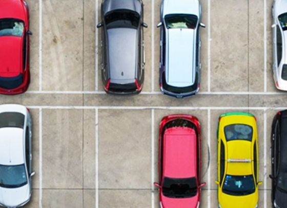 E-parking assistance for New Town residents