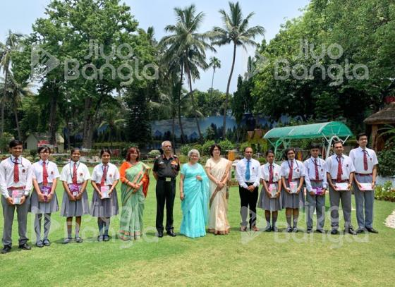 Students of Army Public School get felicitated