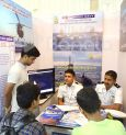 Indian Navy participated at 16th Admissions Fair in city