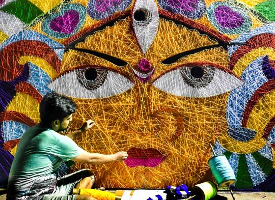 Pujas ahead by 11 days this year