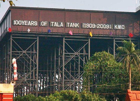 Portion of Tala Tank restored