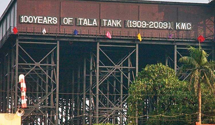 Portion of Tala Tank restored