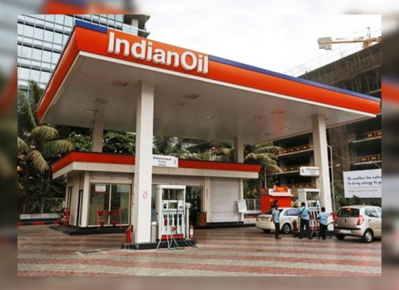 Indian Oil on mission green