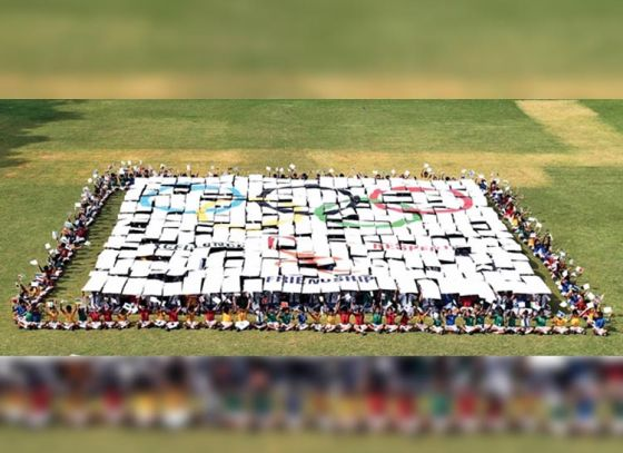 Olympic Day celebrated by students in advance