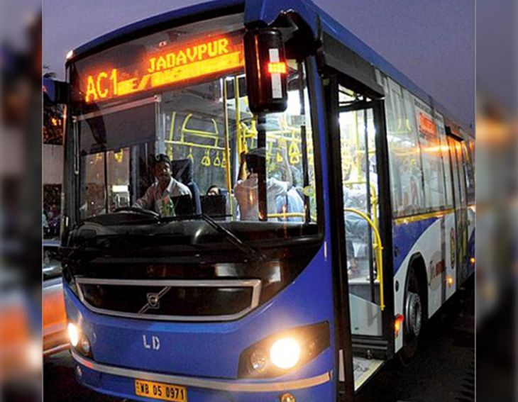 Bengal is preferring AC Buses Over Private Vehicles