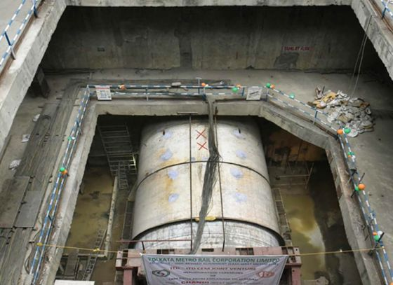 Tunnel boring machines used for E-W Metro to be retrieved