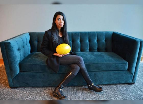 Kolkata girl invents world's first underwater drone