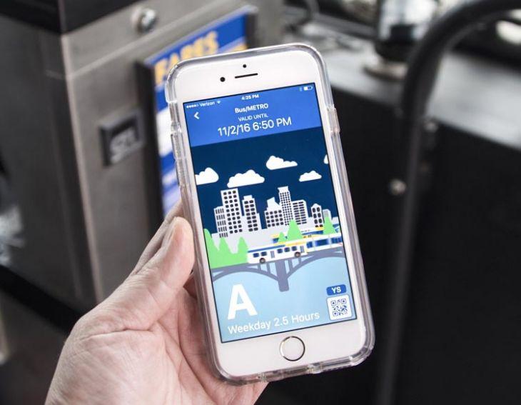 Metro rail ticketing app on the cards?