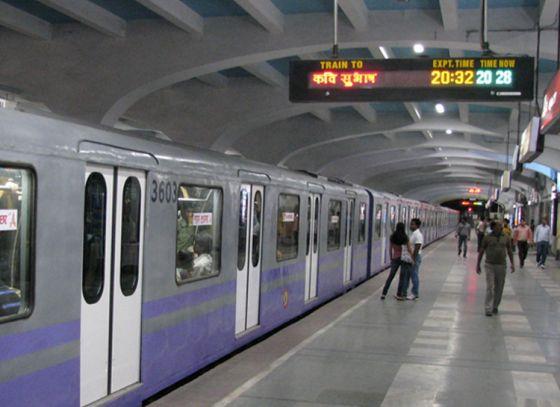 CCTV surveillance in Kolkata AC metro coaches