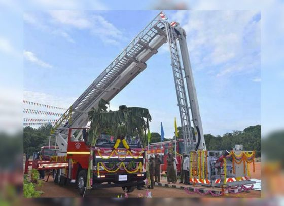 Fire Department to buy new hydraulic ladder
