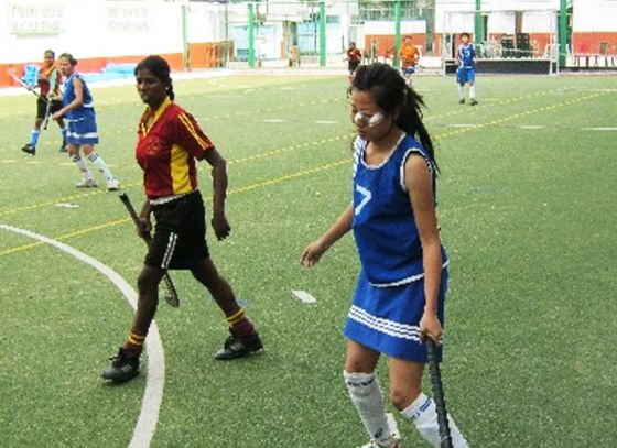 Bengal's only school with AstroTurf built a Women's Hockey team