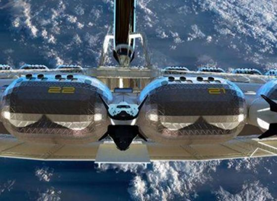 A Peek Inside World's first Space Hotel