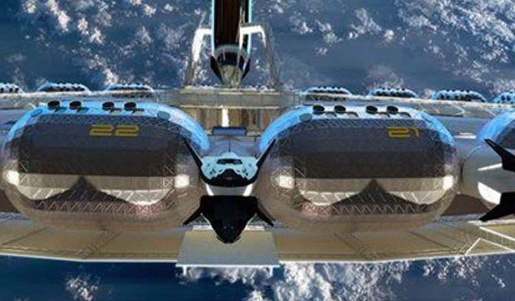 A Peek Inside World's first Space Hotel