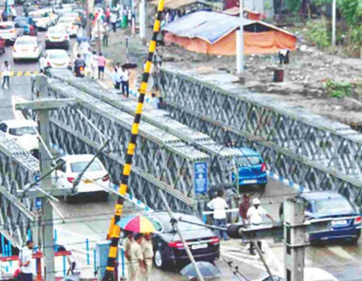 Bailey Bridge Traffic Rules May Be Altered for Puja