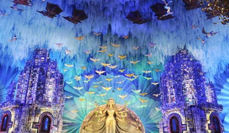 Theme pandals to be used in Jagaddhatri, Kali Puja