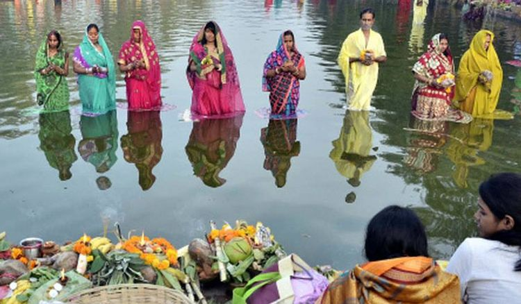 Water reservoir developed for eco-friendly Chhath Puja