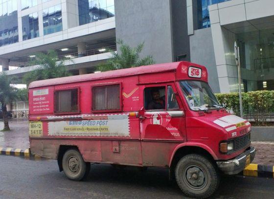 Postal service speeds up delivery