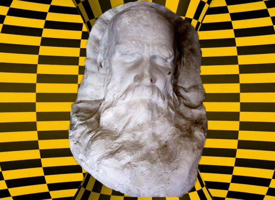 Tolstoy's death mask added to the museum of Rabindra Bharati