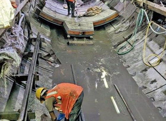 Tunnel boring machine moves for maintenance