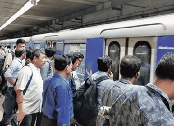 Kolkata Metro's fare hiked